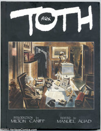 Alex Toth 40/500 (Kitchen Sink 1995) Condition: VF/NM. Here is the much-in-demand Alex Toth hardcover, not only signed b...