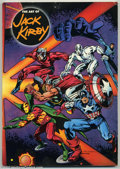 Memorabilia:Comic-Related, Art of Jack Kirby, The Softcover Book (Blue Rose Press, 1992) Condition: VG/FN. This fantastic book tells the story of how a...