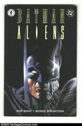 Modern Age (1980-Present):Miscellaneous, Batman: Aliens (DC and Dark Horse 1997) Condition: VF. Batman takes on his deadliest foes ever when he faces these unstoppab...