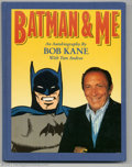 Memorabilia:Comic-Related, Batman & Me Signed Hardcover 15/1000 (Eclipse, 1989) Condition: FN. This fantastic book not only features tons of cool Batma...