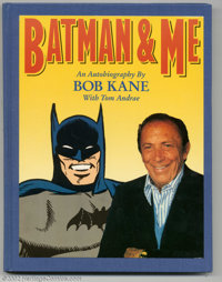 Batman & Me Signed Hardcover 15/1000 (Eclipse, 1989) Condition: FN. This fantastic book not only features tons of co...