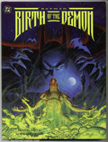 Modern Age (1980-Present):Miscellaneous, Batman: Birth of the Demon (DC 1992) Condition: NM+. Wonderful first print of the hardcover version owned and signed by Juli...