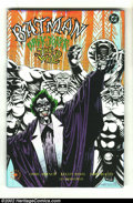 Modern Age (1980-Present):Miscellaneous, Batman: Dark Joker - The Wild (DC 1993) Condition: NM. This great hardcover issue with the metallic dust jacket is signed by...