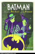 Modern Age (1980-Present):Miscellaneous, Batman: Featuring Two-Face and The Riddler (DC 1995) Condition: NM-. Julius had this issue in his collection in order to re-...