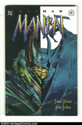 Modern Age (1980-Present):Miscellaneous, Batman: Manbat (DC 1995) Condition: NM. This great graphic novel compilation of the three incredible issues by John Bolton i...