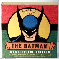 Batman Masterpiece Edition (DC, 2000). The Caped Crusader's early exploits are recalled in this amazing collection from...