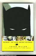 Memorabilia:Comic-Related, Batman: The Dark Knight Returns 1-4 (DC, 1986) Condition: NM. This is the second hardcover printing from 1986. This NM copy ...