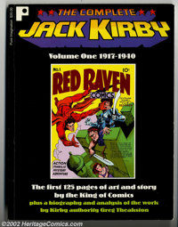 Complete Jack Kirby Volume One 1917-1940 (Pure Imagination, 1997) Condition: VF. This is a collection of the first 125 p...