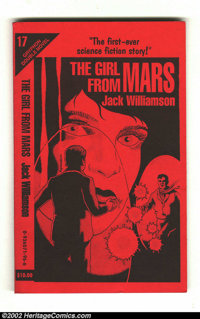 The Girl From Mars/The Prince of Space (Gryphon Book 1998) Condition: NM-. Written in 1928 by Jack Williamson, Julius ha...