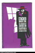 Modern Age (1980-Present):Miscellaneous, Stacked Deck: The Greatest Joker Stories Ever Told (DC 1990) Condition: NM. Offered here is the expanded version with the pu...