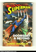 Modern Age (1980-Present):Miscellaneous, Superman: Doomsday and Beyond (DC 1993) Condition: FN.. This is Julius' personal copy of the Louis Simonson and Dan Jurgens ...