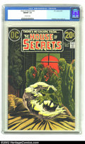 Bronze Age (1970-1979):Horror, House of Secrets #100 (DC,1972) CGC NM/MT 9.8 Off-white pages. Thisstunning copy of House of Secrets is all you could e...