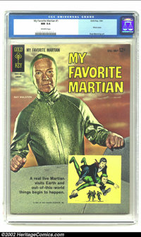 My Favorite Martian #1 (Gold Key, 1964) CGC NM 9.4 Off-white pages. The first issue of the comic adaptation of a TV favo...