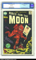 Golden Age (1938-1955):Science Fiction, Race For the Moon #3 File Copy (Harvey, 1958) CGC VF 8.0 Cream tooff-white pages. This is not supposed to be that uncommon ...