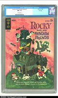Silver Age (1956-1969):Humor, Rocky and His Fiendish Friends #1 (Gold Key, 1962) CGC NM+ 9.6 Off-white pages . When you are holding one of the top two cop...