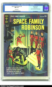 Space Family Robinson #6 Pacific Coast pedigree (Gold Key, 1964) CGC NM+ 9.6 Off-white pages. Along with other Gold Key...