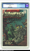 Silver Age (1956-1969):Horror, This Magazine Is Haunted v2 #12 (Charlton, 1957)CGC VF 8.0 Cream tooff-white pages. Ditko cover and contents make this a mu...