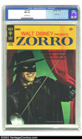 Silver Age (1956-1969):Adventure, Zorro #4 (Gold Key, 1966) CGC NM 9.4 Off-white pages. This copy sparkles as the best specimen of issue #4 should. In fact, n...