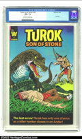 Bronze Age (1970-1979):Miscellaneous, Turok #130 (Whitman, 1982) CGC NM+ 9.6 Off-white to white pages.This is the last published issue of the run making it one o...