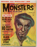 Magazines:Horror, Famous Monsters of Filmland #5 (Warren, 1959) Condition: FN+. This painted cover by Albert Nuetzell portrays Bela Lugosi as ...