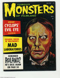 Magazines:Horror, Famous Monsters of Filmland #7 (Warren, 1960) Condition: FN-. Zacherly looks a bit distressed as that mischievous Phantom of...