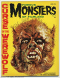 Magazines:Horror, Famous Monsters of Filmland #12 (Warren, 1961) Condition: FN. Basil Gogos renders an absolutely stunning painting of the lyc...