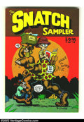 Bronze Age (1970-1979):Alternative/Underground, The Snatch Sampler nn (Apex Novelties, 1977) Condition: NM+. One of the most offensive undergrounds of all time is collected...