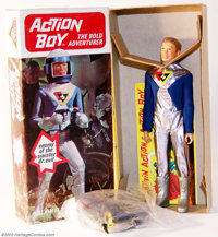 Action Boy - Second Issue Box (Ideal, 1967). What would Captain Action be without is trusty side-kick Action Boy? Withou...