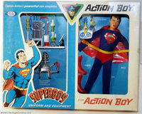 Action Boy Superboy Uniform Set (Ideal, 1967). The Boy of Steel was an obvious choice for an Action Boy disguise, and th...