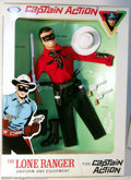 Memorabilia:Superhero, Captain Action Lone Ranger Uniform Set, Red Shirt (Ideal, 1966). Hi Yo, Silver!! This is a stunning, mint in box, first-issu...