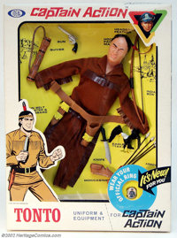 Captain Action Tonto Uniform Set (Ideal, 1966). Get a gander at this, Kemosabe. This is an immaculate specimen of Tonto...