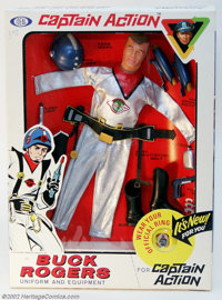 Captain Action Buck Rogers Uniform Set (Ideal, 1967). Released during the second wave of Captain Action uniforms (which...