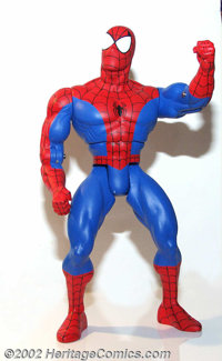 "Toy Biz - Big Time Spider-Man Prototype (Marvel, 1997). This cast urethane resin prototype is known as a ""paint mas..."