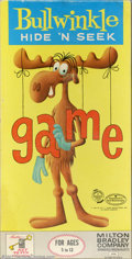 Memorabilia:Miscellaneous, Bullwinkle Board Game (Milton Bradley, 1961). This is the tough to find Hide 'n Seek game from 1961. A game so innocent it g...