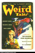 Pulps:Science Fiction, Weird Tales Pulp Group Lot Of 16 (Popular Fiction, 1942 - 1944)Average condition: VG. Here you have the entire set of Wei...(Total: 16 Comic Books Item)
