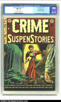Golden Age (1938-1955):Crime, Crime SuspenStories #13 Gaines File pedigree 3/12 (EC, 1952) CGC NM+ 9.6 Off-white to white pages. When grouped together the...