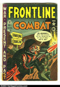 Golden Age (1938-1955):War, Frontline Combat Group Lot of #1-15 (EC, 1951). Here's a greatopportunity to get the full run of possibly the grittiest and...