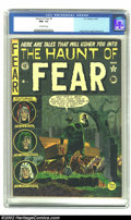 Golden Age (1938-1955):Horror, The Haunt of Fear #5 (EC, 1951) CGC NM- 9.2 Off-white pages. Johnny Craig only created a few covers for this title, includin...