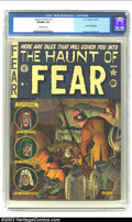 Golden Age (1938-1955):Horror, The Haunt of Fear #11 (EC, 1952) CGC VF/NM 9.0 Off-white pages. Thefirst cover by Graham Ingels on this title ushered in a ...