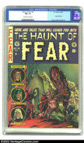 Golden Age (1938-1955):Horror, The Haunt of Fear #14 (EC, 1952) CGC NM- 9.2 Off-white to whitepages. Here's a dynamite issue with one of Graham Ingels' cl...