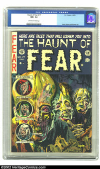 The Haunt of Fear #17 (EC, 1953) CGC NM- 9.2 Off-white to white pages. At the risk of repeating ourselves repeating ours...