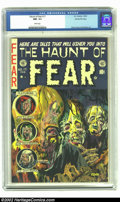 Golden Age (1938-1955):Horror, The Haunt of Fear #17 Gaines File pedigree 3/12 (EC, 1953) CGC NM-9.2 White pages. Graham Ingels doesn't hold the distincti...