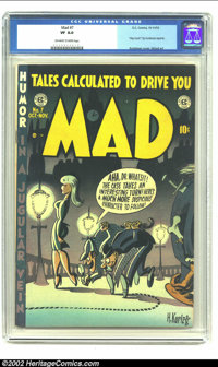 Mad #7 (EC, 1953) CGC VF 8.0 Off-white to white pages. Screwball antics from Harvey Kurtzman, Wally Wood, and the crew p...