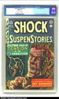 Golden Age (1938-1955):Horror, Shock SuspenStories #7 (EC, 1953) CGC NM- 9.2 Off-white to white pages. Very little keeps this striking copy from an even hi...