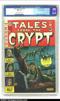 Golden Age (1938-1955):Horror, Tales From the Crypt #22 Gaines File pedigree 3/10 (EC, 1951) CGCNM+ 9.6 Off-white to white pages. This third issue of this...