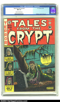 Tales From the Crypt #22 (EC, 1951) CGC NM 9.4 Cream to off-white pages. There ought to be some sought of horror comic r...
