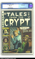 Golden Age (1938-1955):Horror, Tales From the Crypt #23 Gaines File pedigree Certificate Missing(EC, 1951) CGC NM+ 9.6 Off-white pages. One of Al Feldstei...