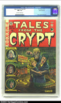 Golden Age (1938-1955):Horror, Tales From the Crypt #24 Gaines File pedigree 7/12 (EC, 1951) CGCNM+ 9.6 Off-white to white pages. Al Feldstein's covers on...