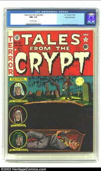 Tales From the Crypt #28 Gaines File pedigree 3/12 (EC, 1952) CGC NM+ 9.6 Off-white pages. Now take a deep breath - and...