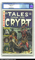 Golden Age (1938-1955):Horror, Tales From the Crypt #31 Gaines File pedigree Certificate Missing(EC, 1952) CGC NM/MT 9.8 Off-white pages. This unbeatable ...